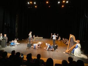 Les arts à l'école - restitution de l'école Poulenc
